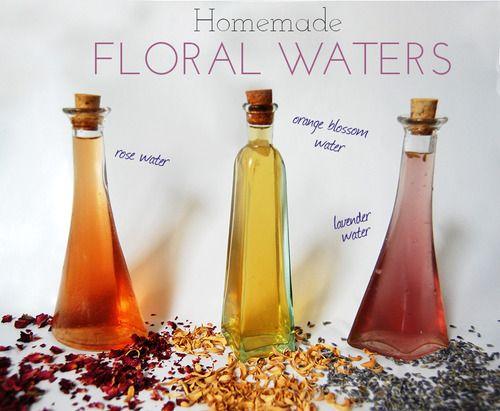 Травяные и цветочные воды для сухой кожи