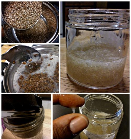 Маска из семени льна для лица