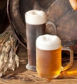 Маска с пивом