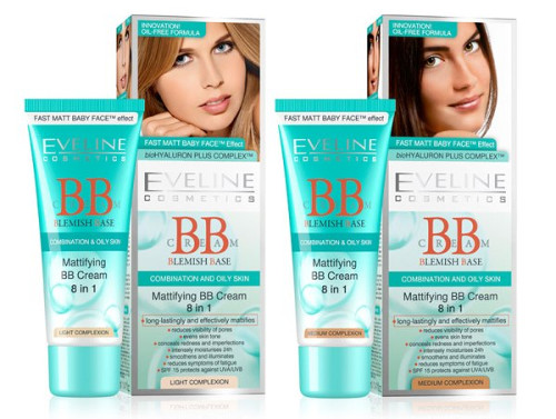 Eveline blemish base Mattifying 8 in 1