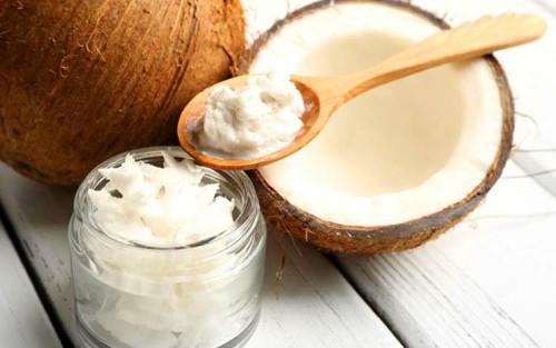 Натуральное твердое кокосовое масло